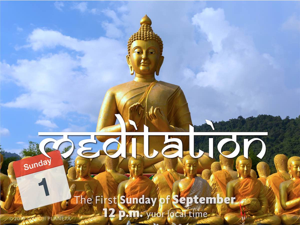 Sunday MEDITATION 04-08-2019
