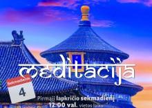 SEKMADIENIO MEDITACIJA 2018-11-04