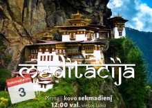 Sekmadienio MEDITACIJA 2019-03-03