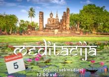 Sekmadienio MEDITACIJA - 2019-05-05
