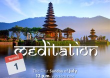 Sunday MEDITATION 1-7-2018