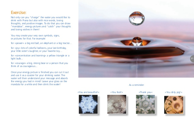 Masaru Emoto Messages from the water