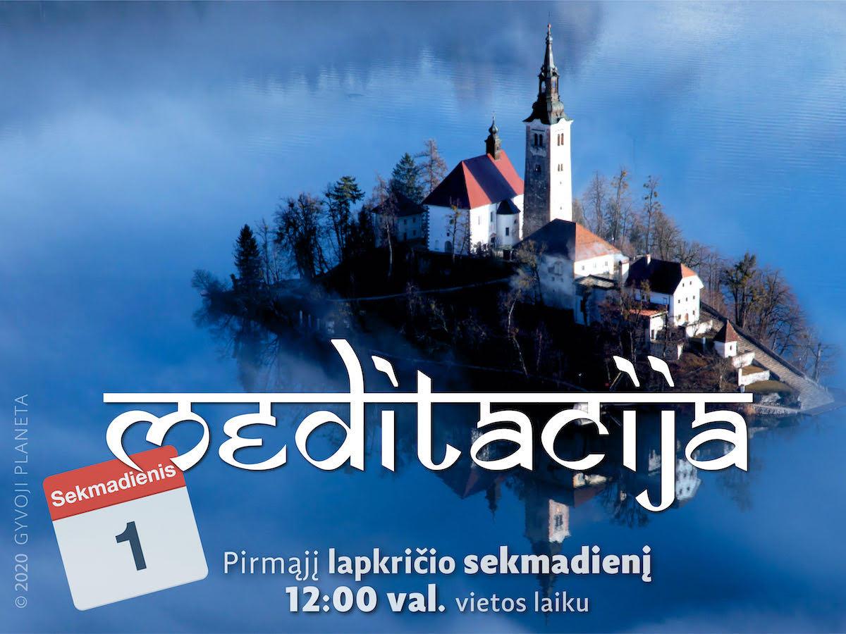 2020-11-01 Sekmadienio MEDITACIJA