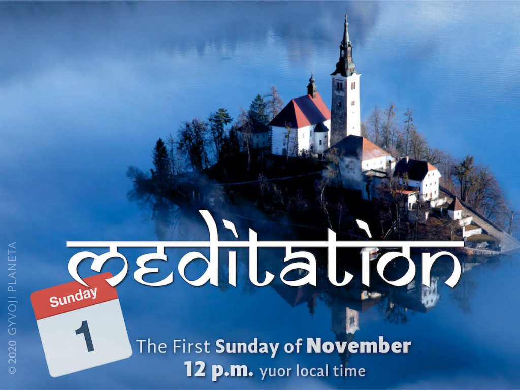 Sunday MEDITATION 01-11-2020